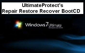 Windows 7 Ultimate Restore Repair Boot disk 32-bit Systems Install Boot CD disc