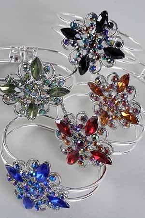 Vintage Cast Bracelet - Blue