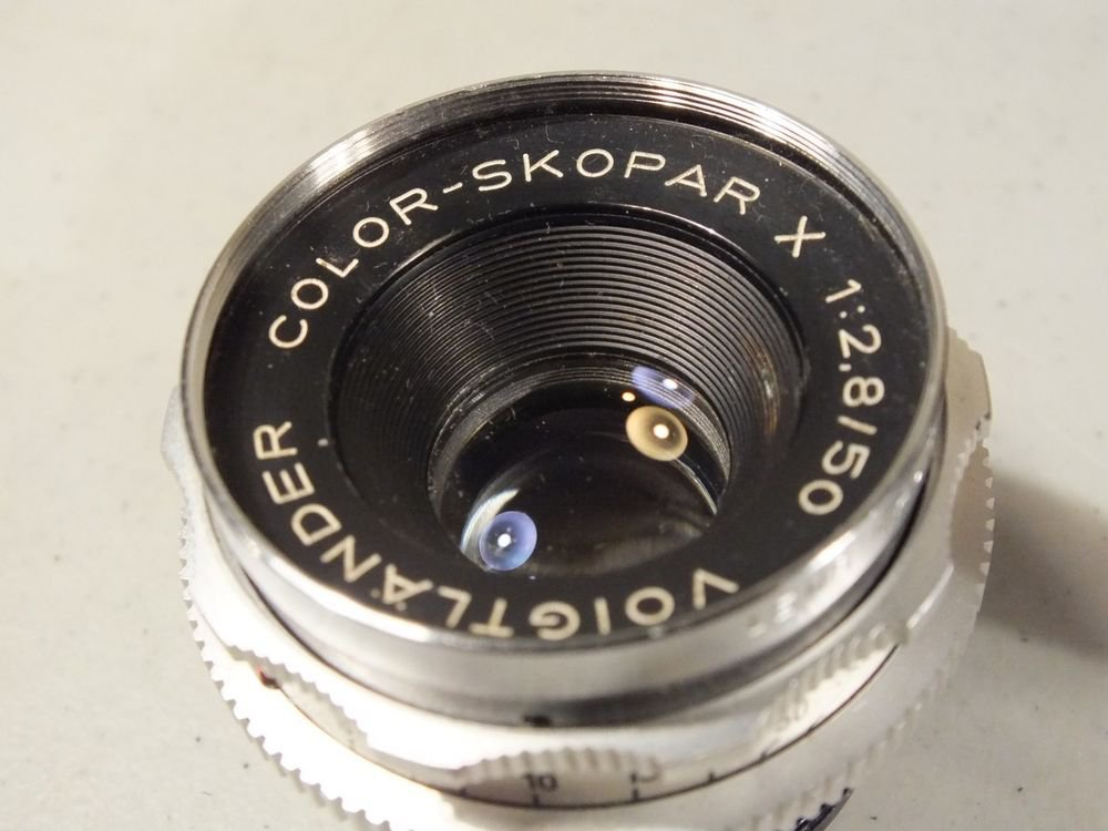 Voigtlander Color Skopar X Lens f2.8 50mm