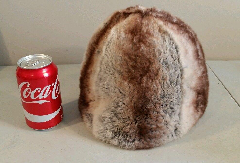 Vintage Chinchilla Fur Hat Bergdorf Goodman
