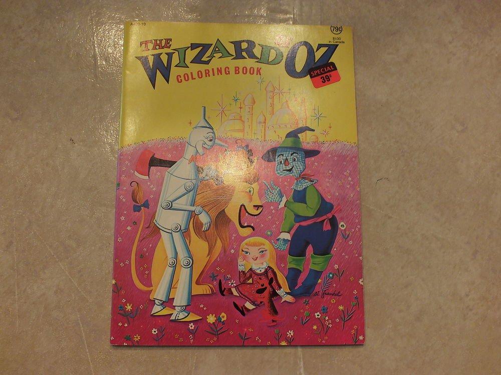 Unused Vintage Coloring Book Wizard of Oz