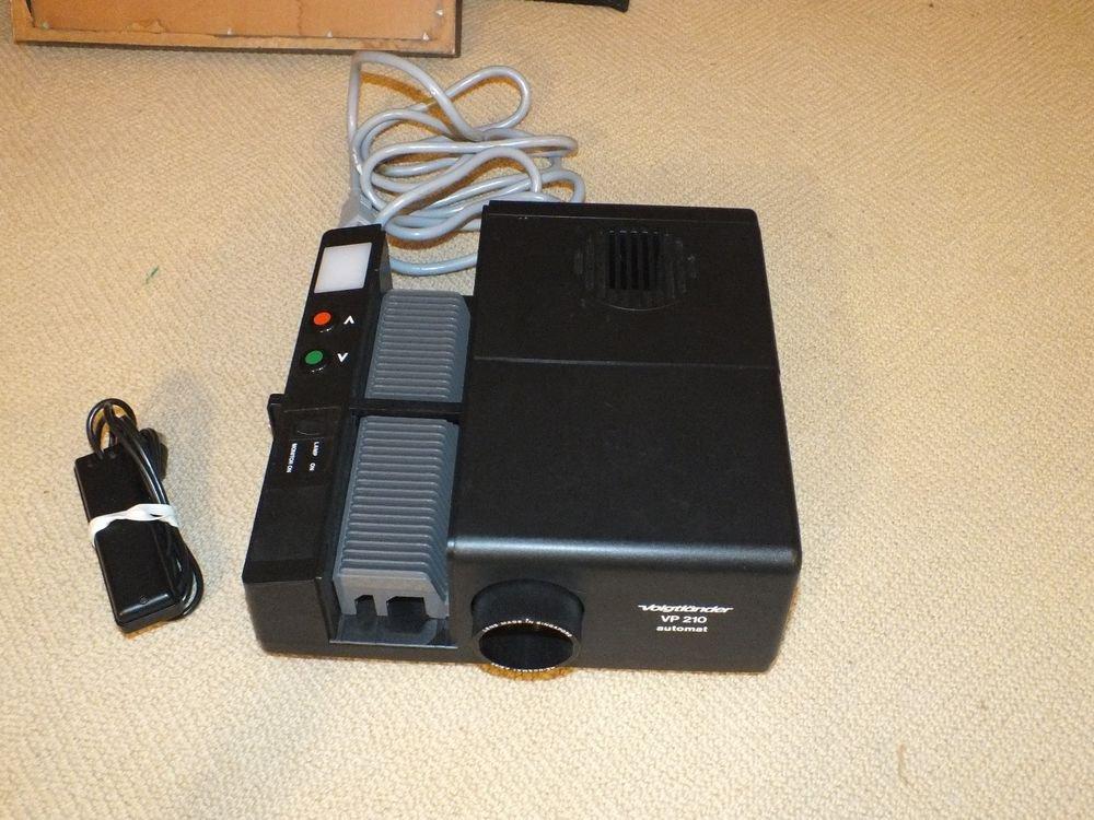 Voigtlander VP-210 Automat Slide Projector with Remote Control