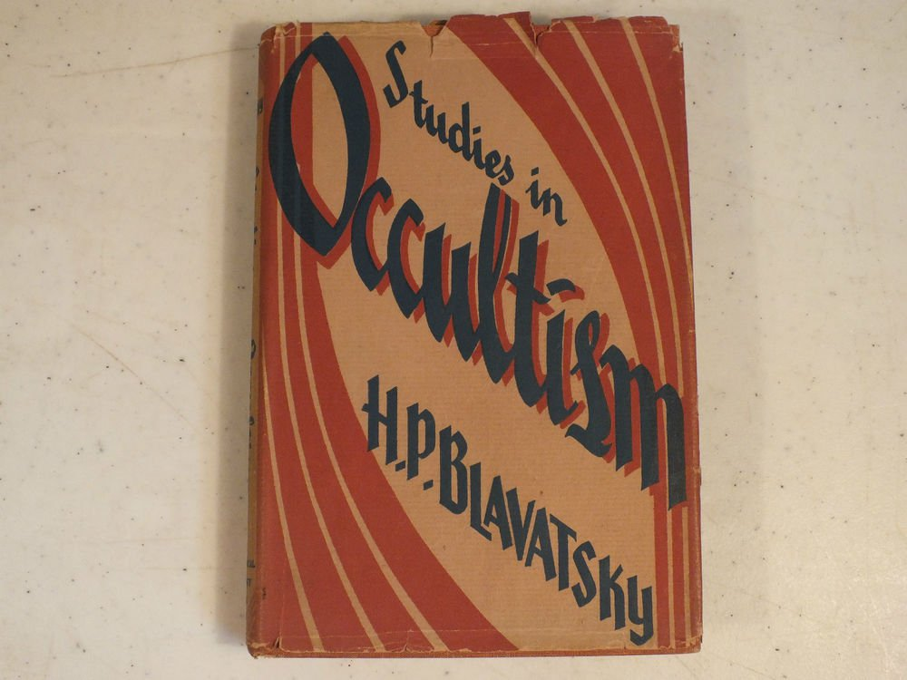 Studies in Occultism by H.P. Blavatsky 1946 Theosophical University Press w/ dj