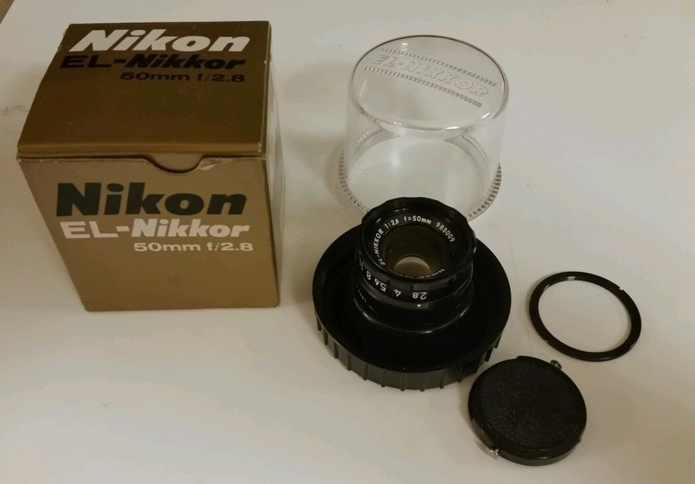 Nikon EL-Nikkor 50mm f/2.8 Enlarging Lens