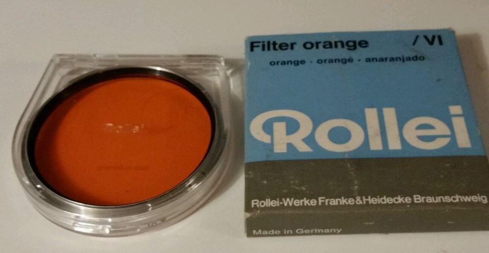 ROLLEIFLEX ROLLEI ORANGE FILTER  VI MOUNT MODELS  SL66