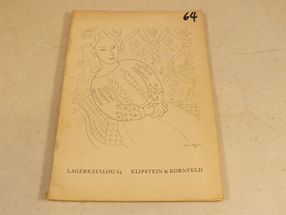 Klipstein & Kornfeld  1951 Auction Modern Arts of the 19th and 20th century