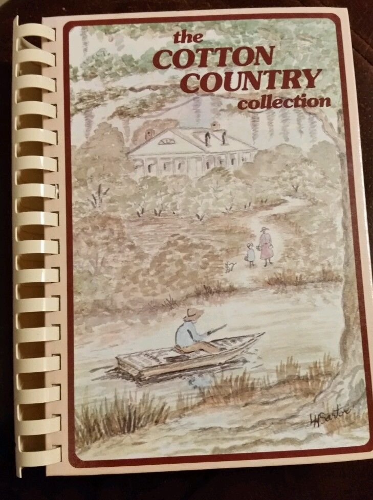 COTTON COUNTRY COLLECTION Cookbook Cajun Monroe LA Jr League 14th printing 1989