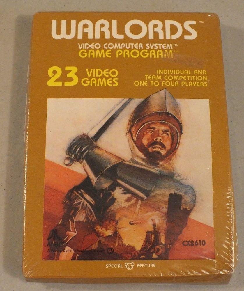 SEALED! Warlords Game Cartridge Atari 2600