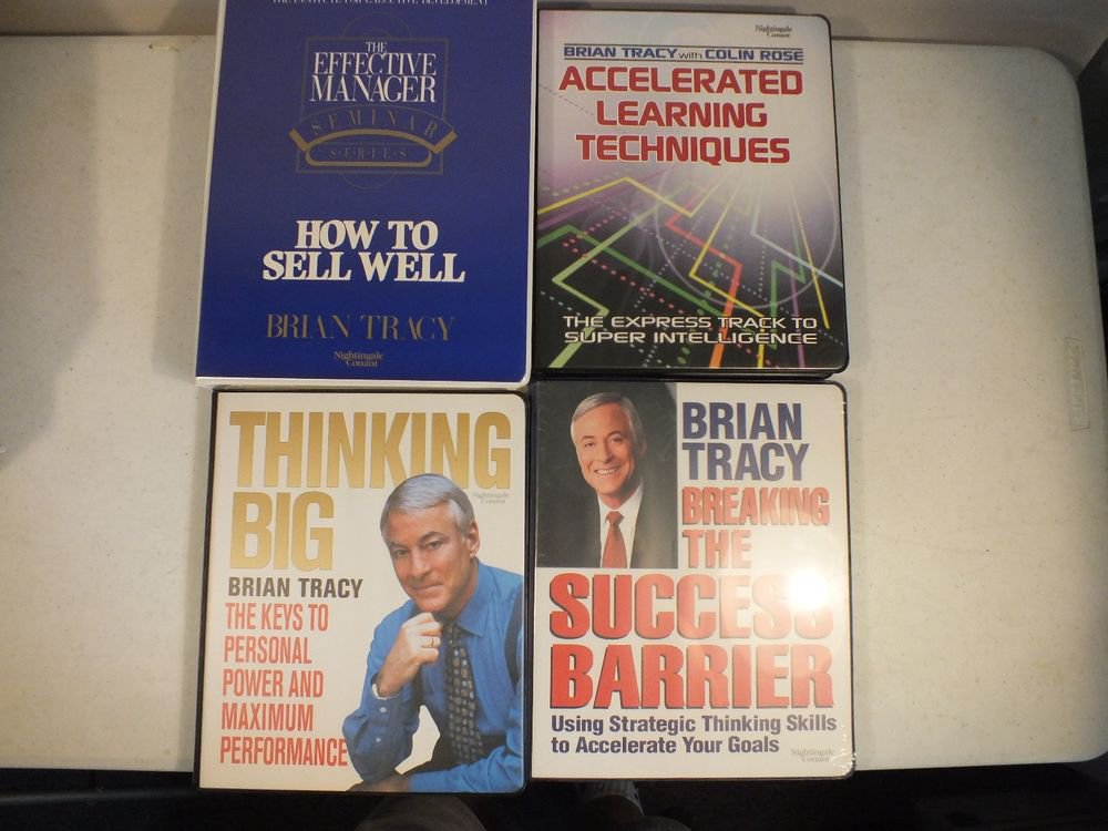 Collection of Brian Tracy Tapes Nightingale Conant