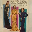 Unused Vintage Joan Crawford UNCUT Paper Dolls Book by Tom Tierney