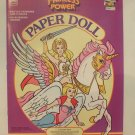 Unused Vintage Golden Princess of Power Paper Cut Out Doll 1985