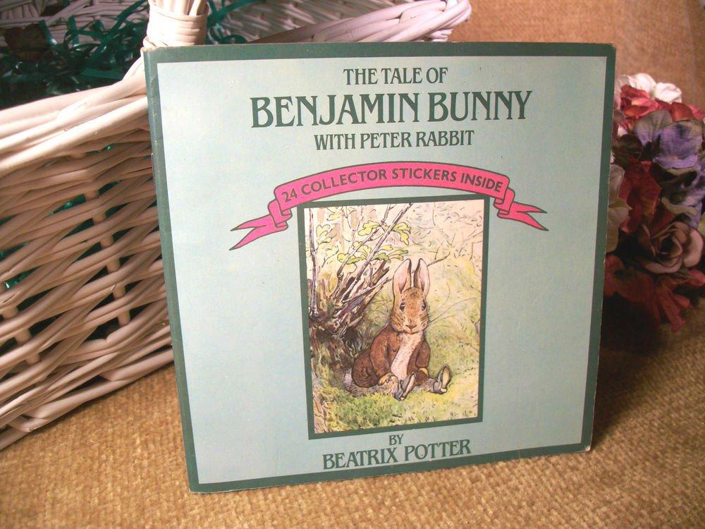 Benjamin Bunny Peter Rabbit Illustrated Children's Story Book by Beatrix Potter