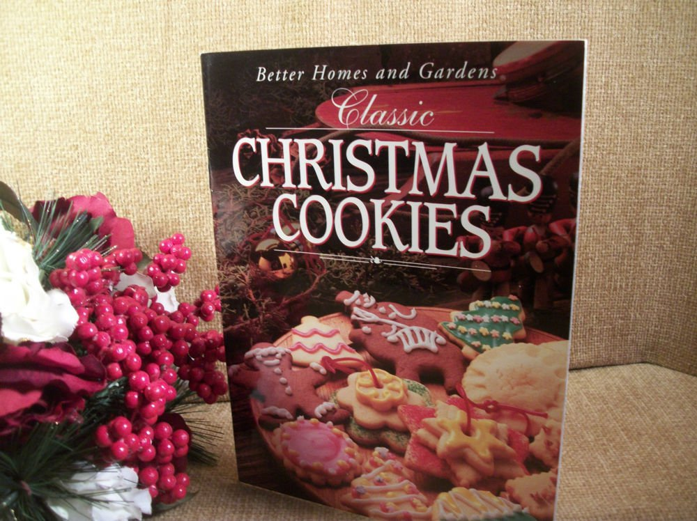 Better Homes & Gardens Classic Christmas Cookies Cookbook Holiday Recipe Booklet