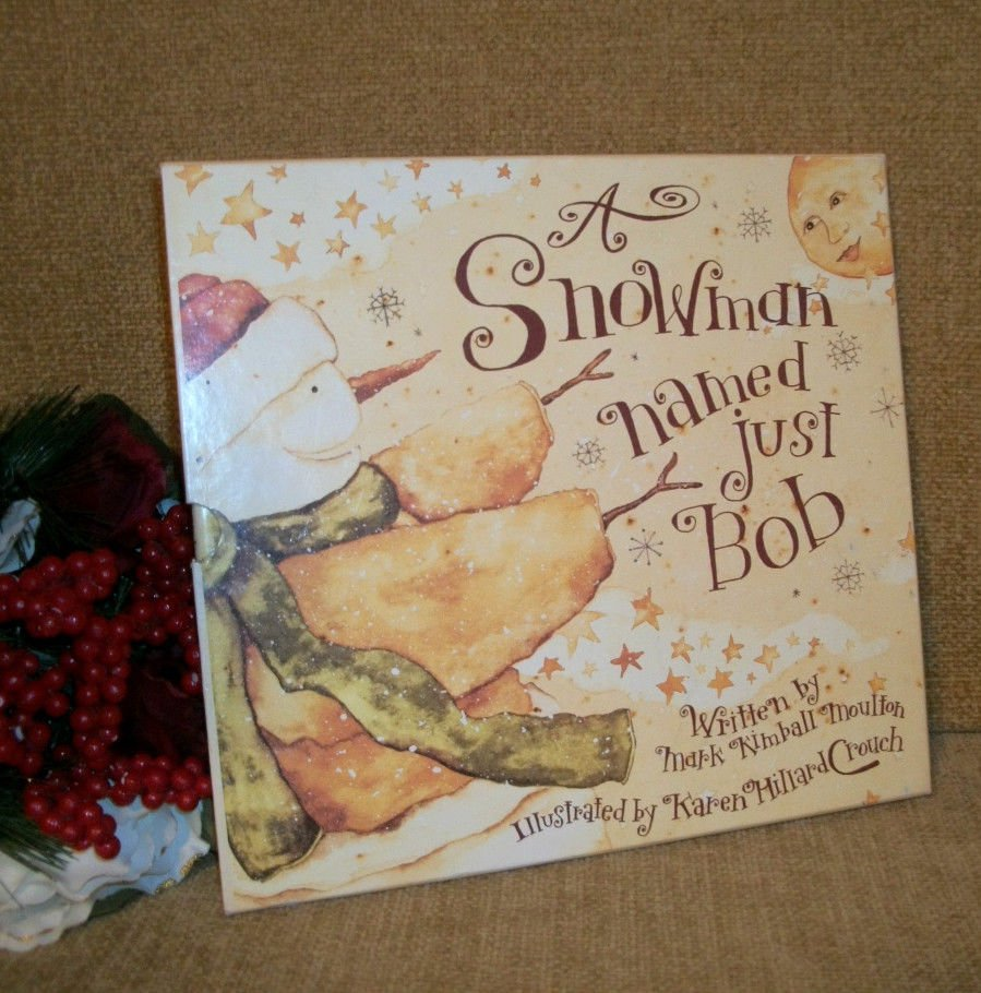 A Snowman Named Just Bob Children's Story Boxed Gift Edition Christmas Book