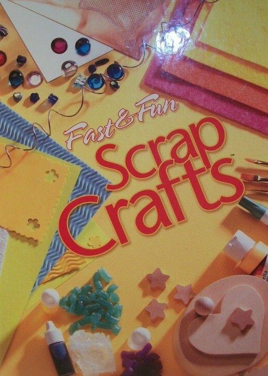 Fast and Fun Scrap Crafts Pattern Book Laura Scott House of White Birches 2002