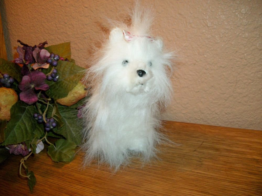 Ganz Webkinz Yorkie White Dog Plush Stuffed Animal Collectible Toy no code