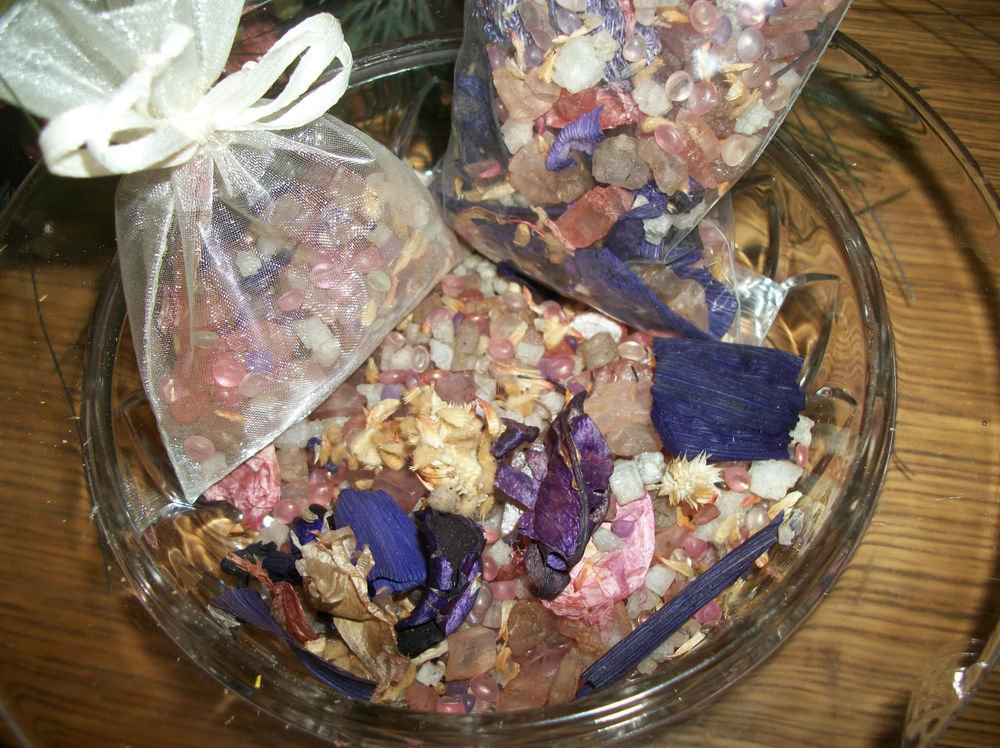 Floral Bouquet Scent Infused Wax Beads Botanical Fragrant Sachet Craft Supply