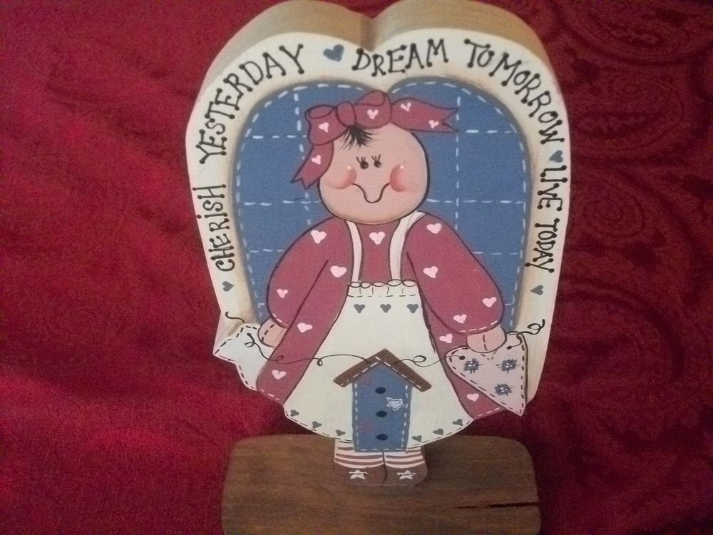 Americana Girl Bird House Red White Blue Inspiration Home Decor Handcrafted