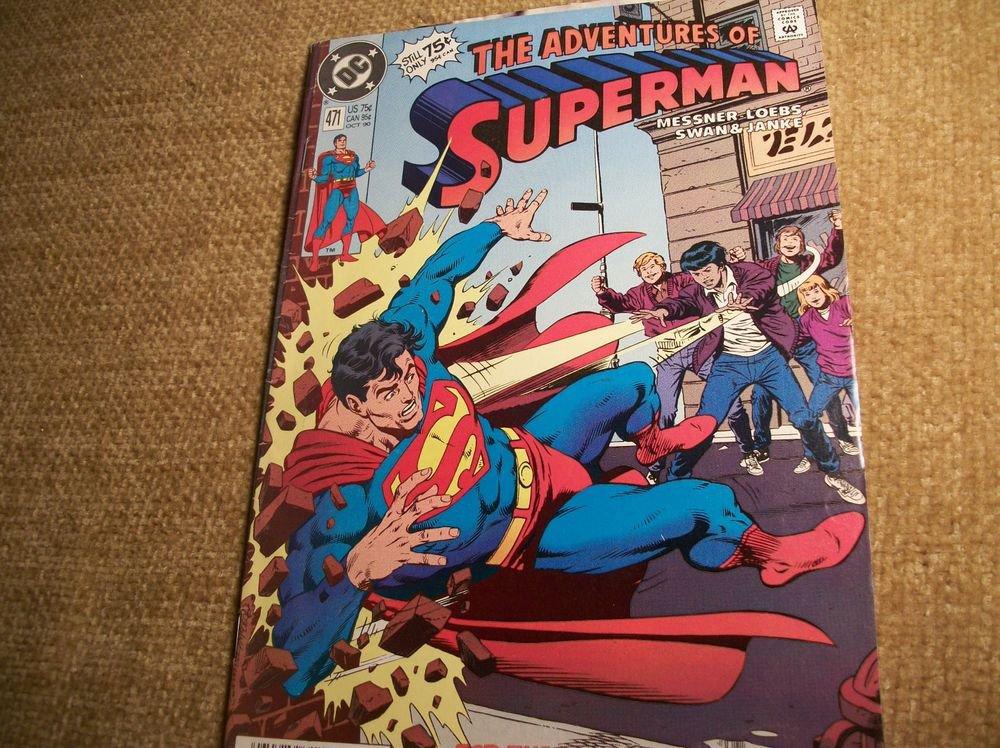SuperheroComic Book VTG DC The Adventures of SUPERMAN Sinbad Strikes Again