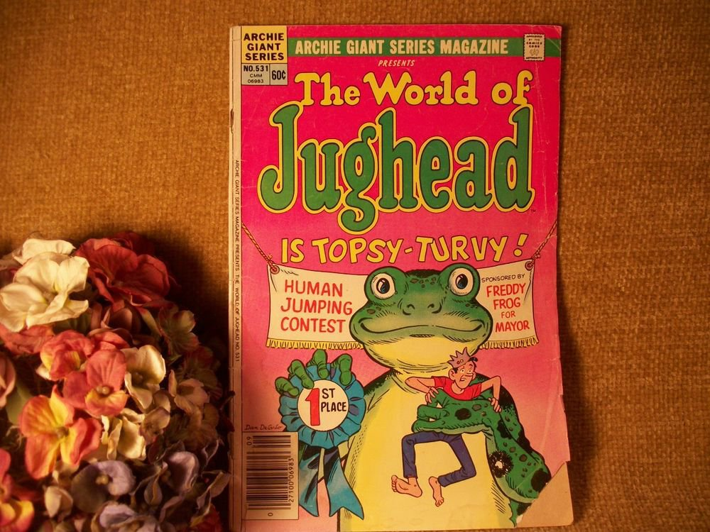 Comic Books Archie Giant Series Comics World of Jughead VTG Collectible