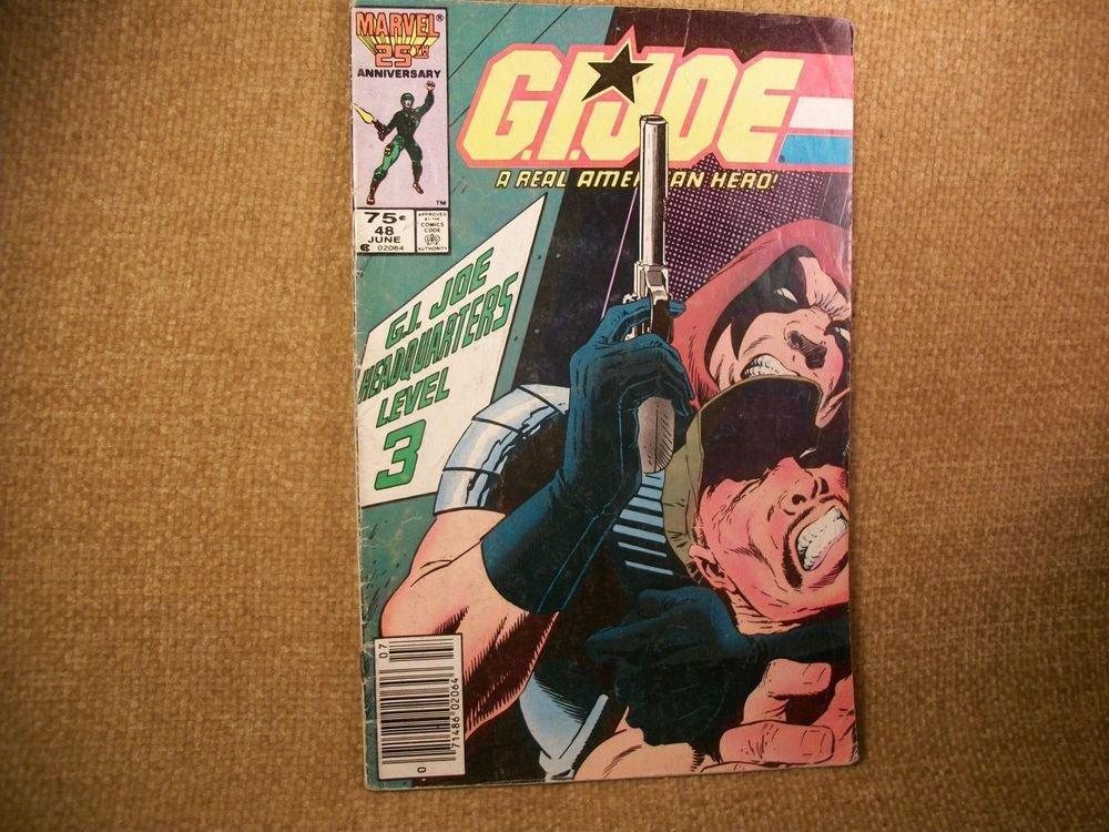 GI Joe A Real American Hero VTG Comic Book Marvel 25th Anniversary Edition