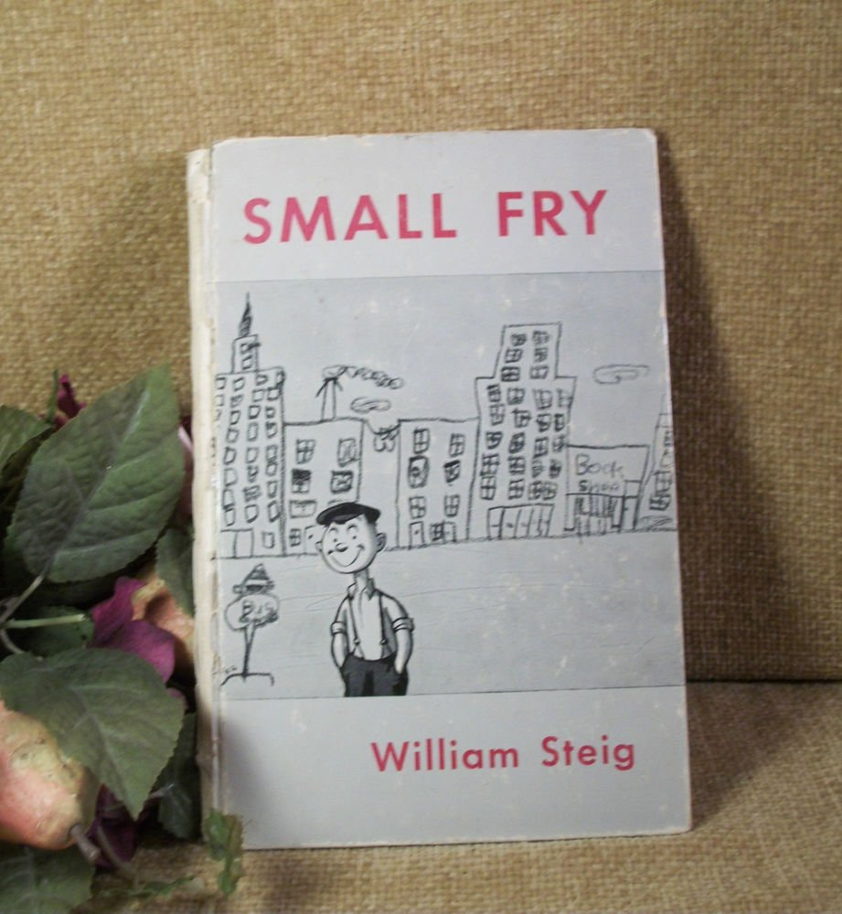 SMALL FRY by William Steig 1951 Book of Drawings of Children Poignant Captions