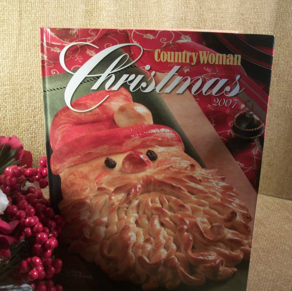Country Woman Christmas 2007 Holiday Food Baking Crafts Decorating Entertaining