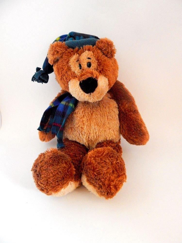 Gund Bear 45426 Christmas Decoration Teddy E Caring Office Depot Promo Toy