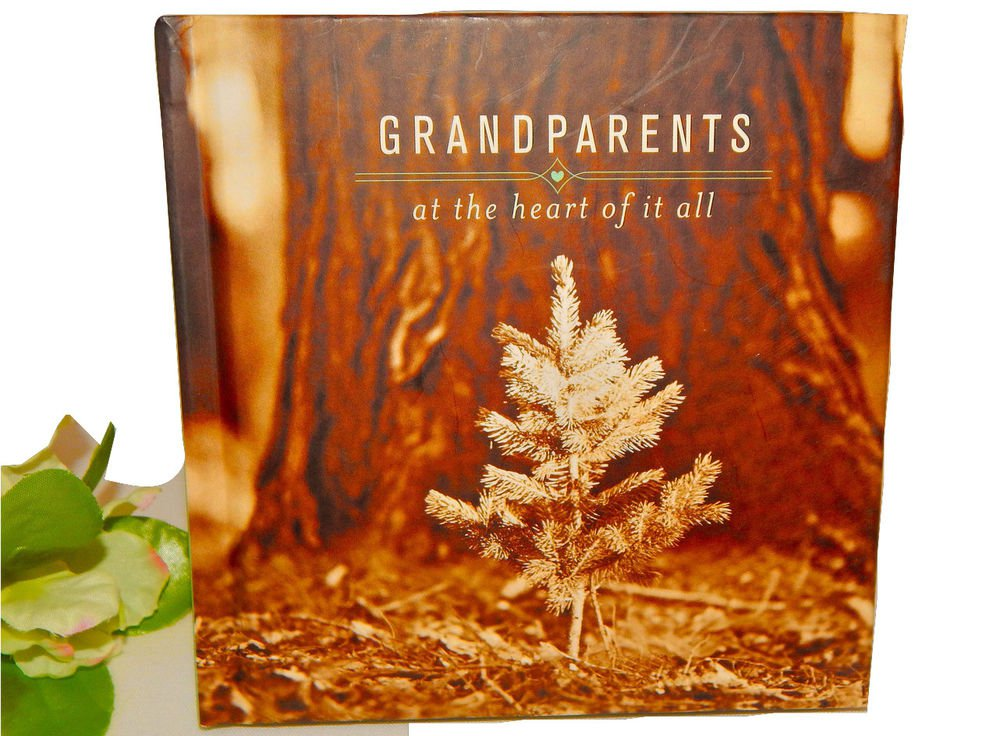 Grandparents at the Heart of it All Hallmark Gift Book Grandma Grandpa Bok4324