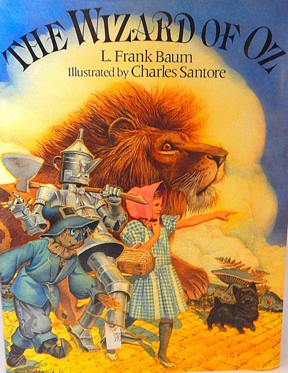 The Wizard of Oz Gift Book by Frank Baum Illustrated by Charles Santore Classic Literature