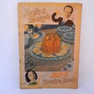 Jello Recipe Book Jack Benny Mary Livingstone Antique 1937 General Foods Advertising Paper Ephemera
