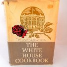 The White House Cook Book Janet Ervin Rare 1964 USA President Biography First Lady Recipes Etiquette