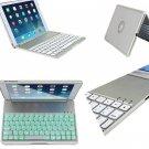 Backlight Backlit Aluminum Bluetooth Keyboard Cover Case For iPad Air 2 iPad 6