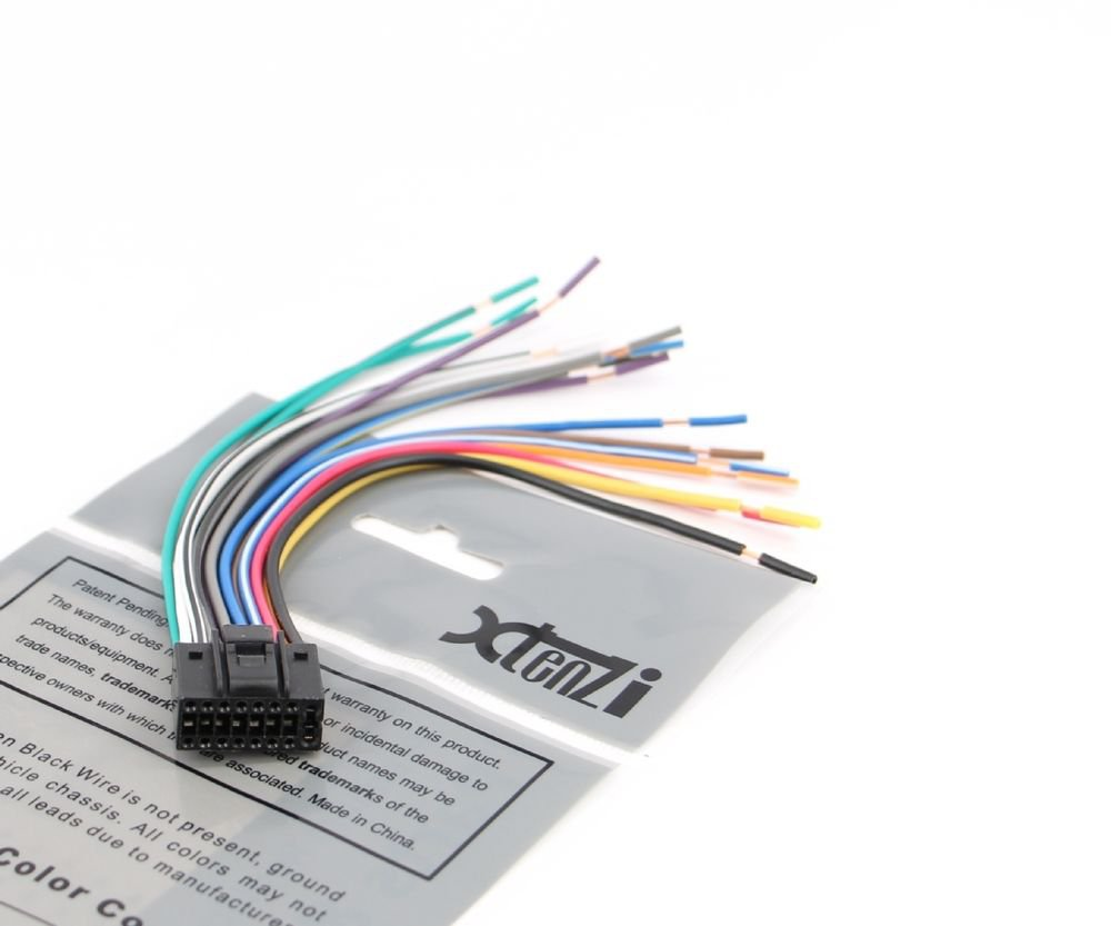 Boss Wiring Harness 16 Pins Diagram Libraries Audio Wire Pin Color Bv9364b Todaysxtenzi Radio For 16pin