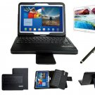 myBitti  Samsung Galaxy Tab 3 10.1 Portfolio Case Bluetooth Keyboard stylus pen