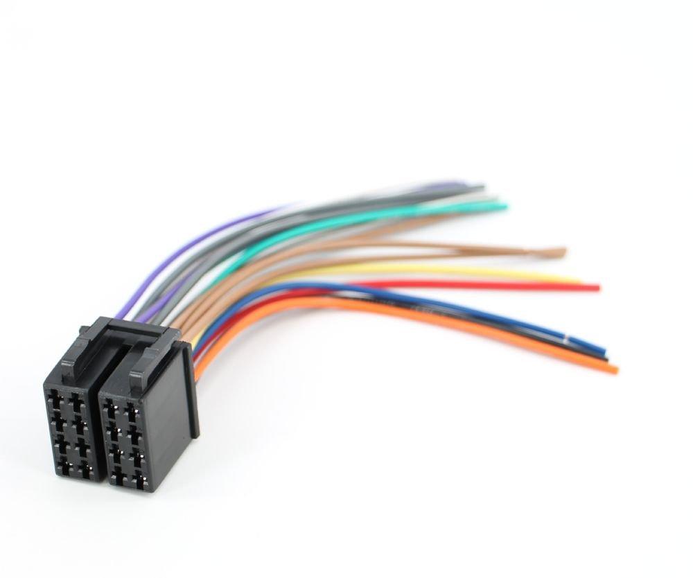 Boss Car Sterio Head Unit 16-pin Wire Harness Power Plug CD MP3 DVD