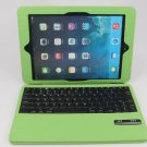myBitti Ultra Thin bluetooth ABC keyboard smart Case  for ipad AIR-Apple green