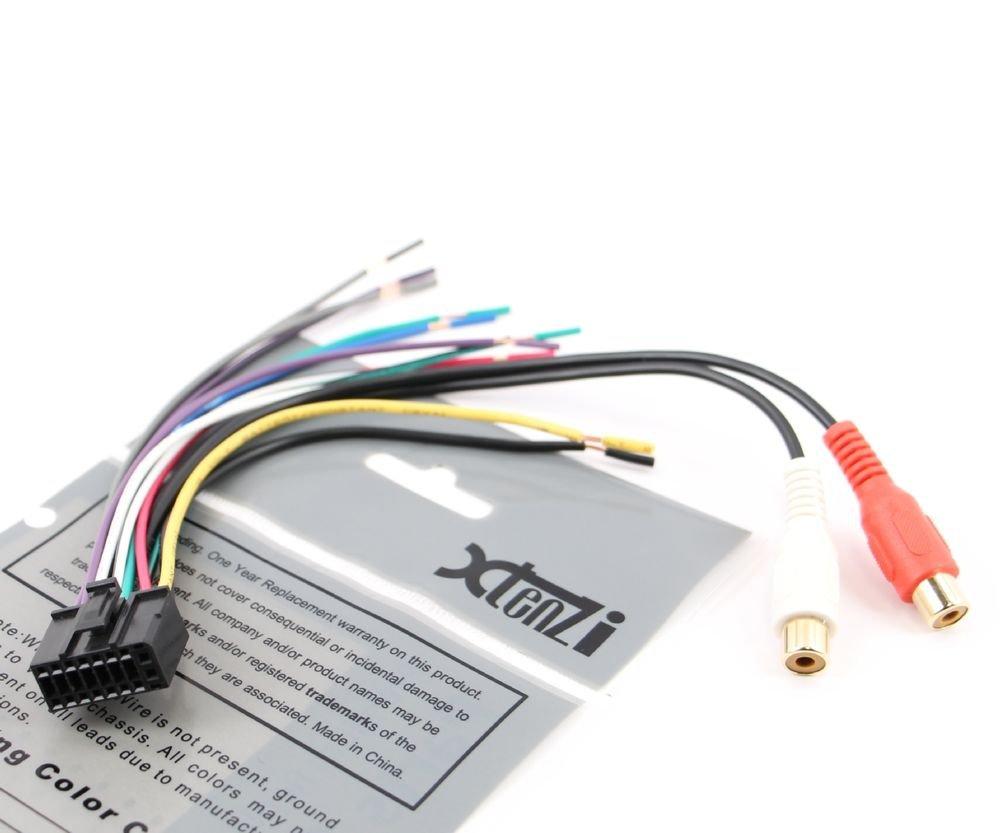 Xtenzi Wire Harness and Speaker Plug Dual 16 Pin XD , XDH , XDMA , XDM , XDMR