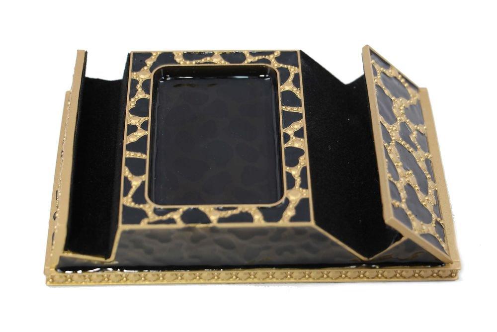 Decorebay Charging Stand for Smartphones, Tablets & Apple watch (Leopard Black)