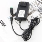 Xtenzi 12V DC 2A Regulated CCTV Camera Switching Power Supply Adapter For 110V-