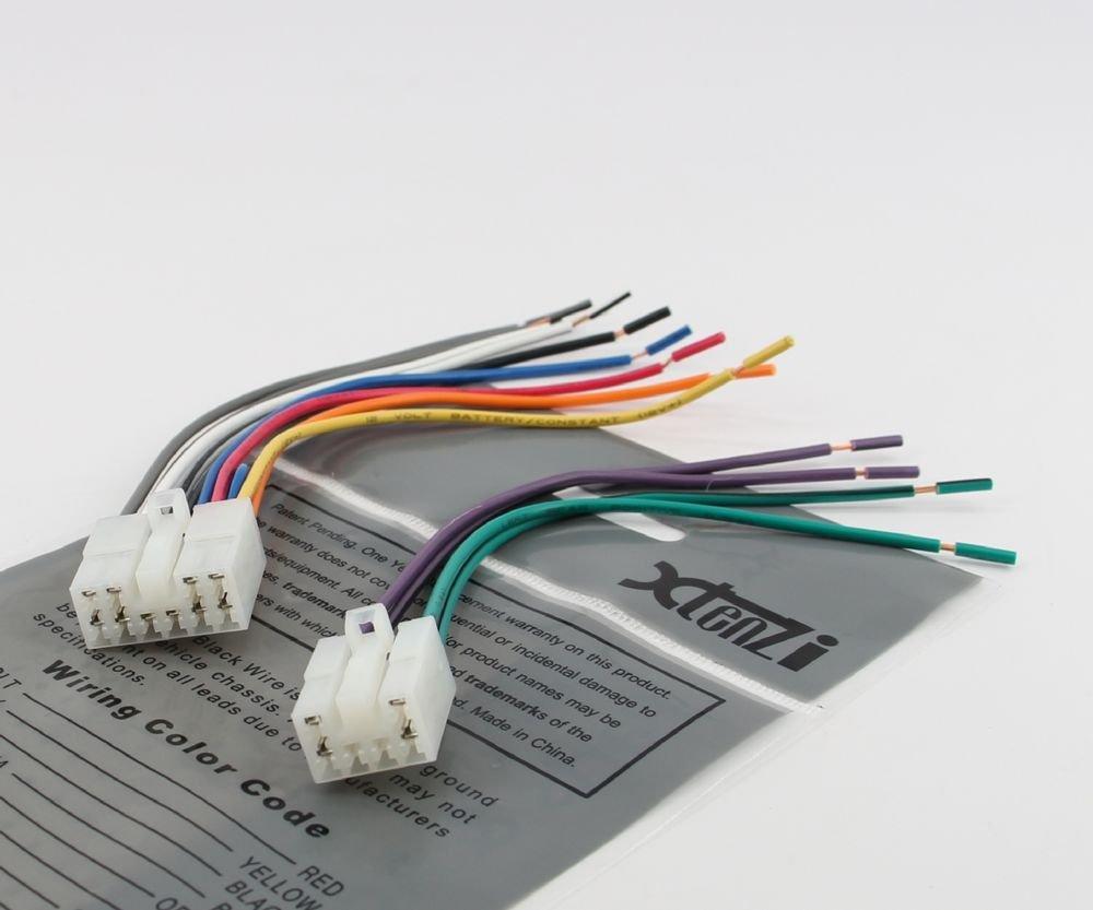 Reverse Wiring Harness for 1987-2007 Toyota Lexus Scion Vehicles OEM Radio