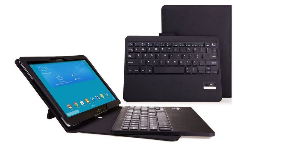 myBitti Samsung Galaxy Note PRO & Tab PRO 12.2 Case - Wireless Bluetooth Keyboar