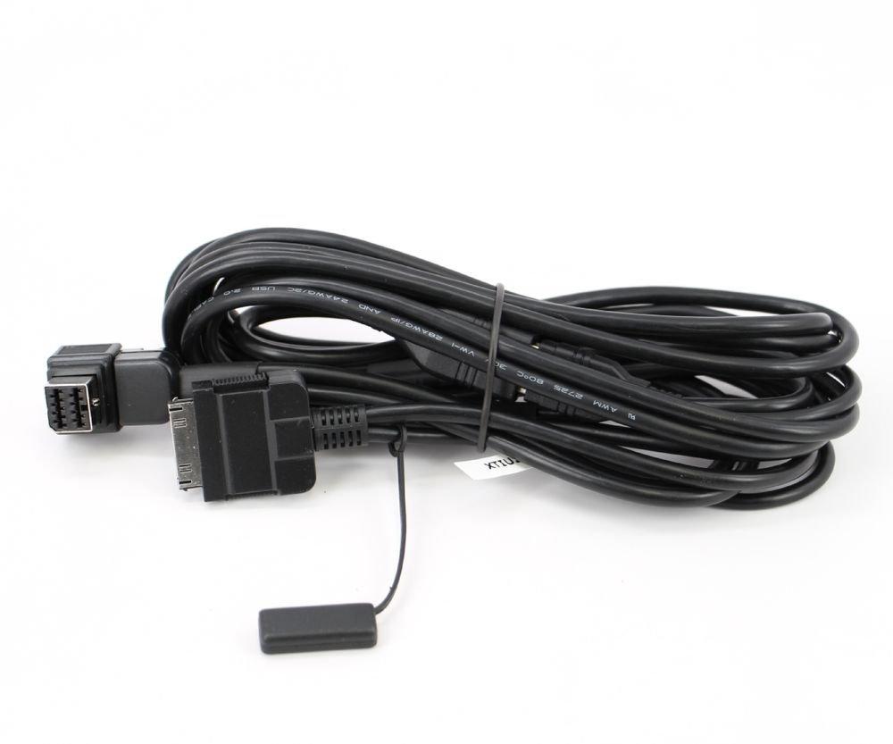 IPOD IPHONE 4/4S CD-IU201N VIDEO AUDIO USB TO 30-PIN INTERFACE ADAPTOR CABLE
