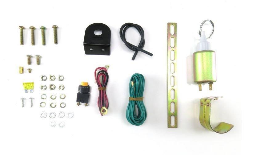 Xtenzi Trunk Release Solenoid Truck Electric Open Kit Viper Clifford DEI-522