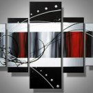 Smash -Abstract-handmade painting-set of 5pcs