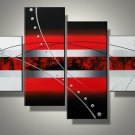 Magma -Abstract-handmade painting-set of 4pcs