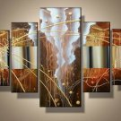 Grand Canyon -Abstract-handmade painting-set of 5pcs
