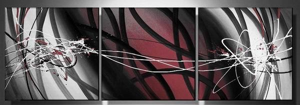 Ichiban -Abstract-handmade painting-set of 3pcs