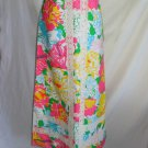 Lilly Pulitzer The Lilly Vintage 60s Maxi Skirt NOS Tropical Hawaiian Print 6