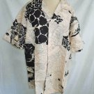 Hawaiian Shirt Vintage 50s Nos Fumis Originals Fish Lion Tiger Black Big Size
